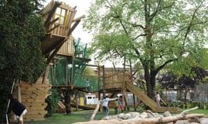 Kilburn Grange Park adventure playground