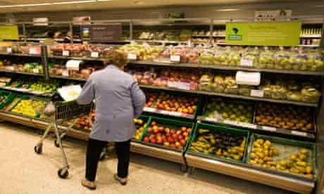 Waitrose fruit display