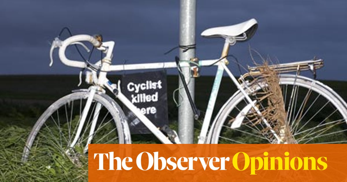 Is it too dangerous to cycle?   Opinion   The Guardian