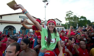 hugo chavez supporters