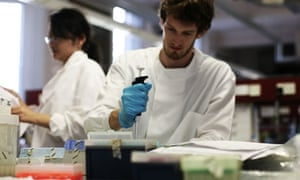 Genetics lab, University College London