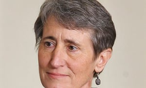 Sally Jewell is seen as she is nominated