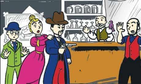 comics bar story