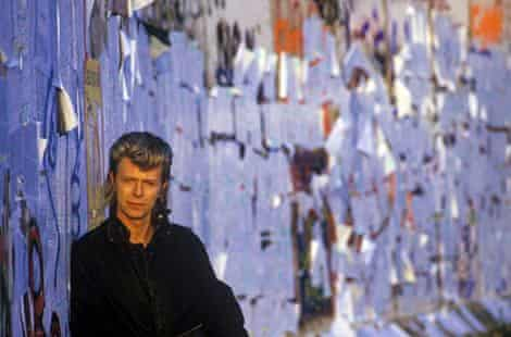 Bowie At Berlin Wall