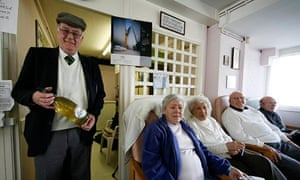 Age Concern Pop in Parlour at the Thamesmead Estate in south east London