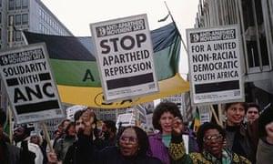 Anti-Apartheid Movement ANC Rally, London