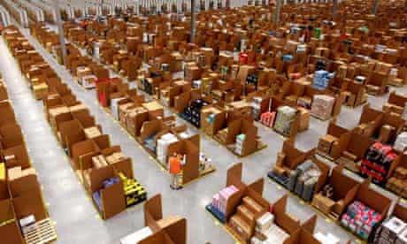 Amazon UK's new fulfilment centre