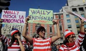 Spanish indignados