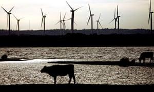 Wind Farm, Camber, Kent