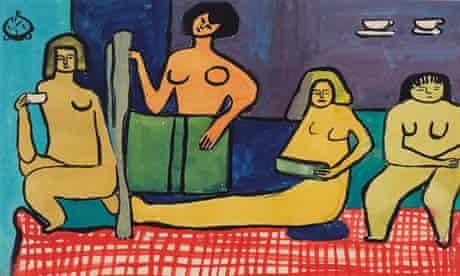 Les Peintres Celebres 1948-1949, by Saloua Raouda Chocair.