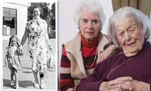 Eva Clarke and mother Anka Bergman