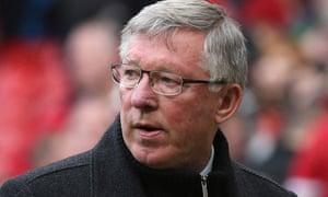 Sir Alex Ferguson at Old Trafford, 5 May 2013