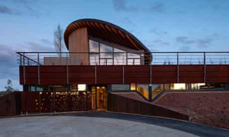 Maggie's cancer centre in Newcastle, designed by Ted Cullinan