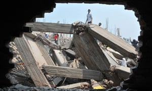 Building collapses in Dhaka, Bangladesh