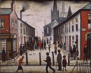 Lowry and the Painting of Modern Life – review