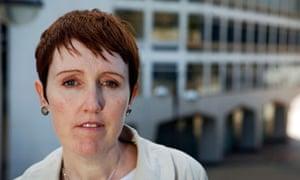 Catherine O'Flynn in central Birmingham