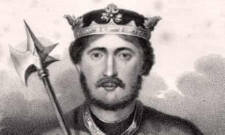 Richard I, aka Richard the Lionheart, English monarch 1157-1199 Engraved by Bocquet from the book A