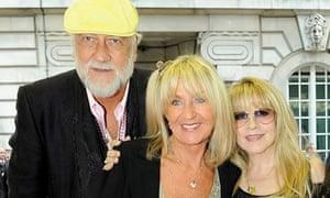 ick Fleetwood, Christine McVie and Stevie Nicks