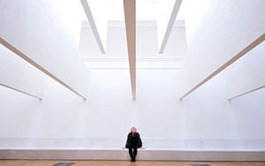 Irish architect Yvonne Farrell poses nex