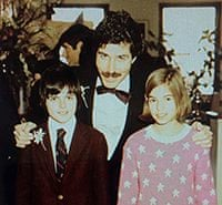 stossel with father and sister