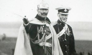Kaiser Wilhelm II of Germany with the 5th Earl of Lonsdale in 1906