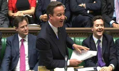 Prime Minister's Questions, David Cameron, 2011