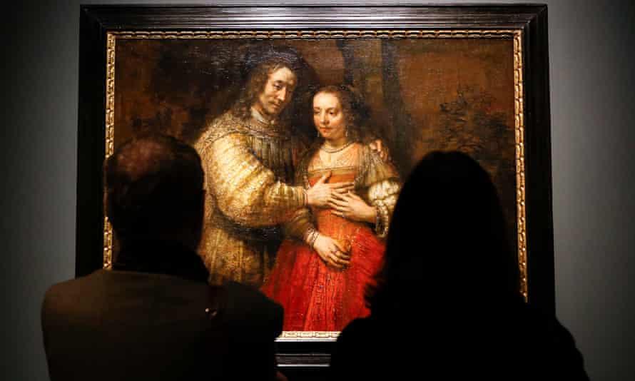 The Jewish Bride Rembrandt