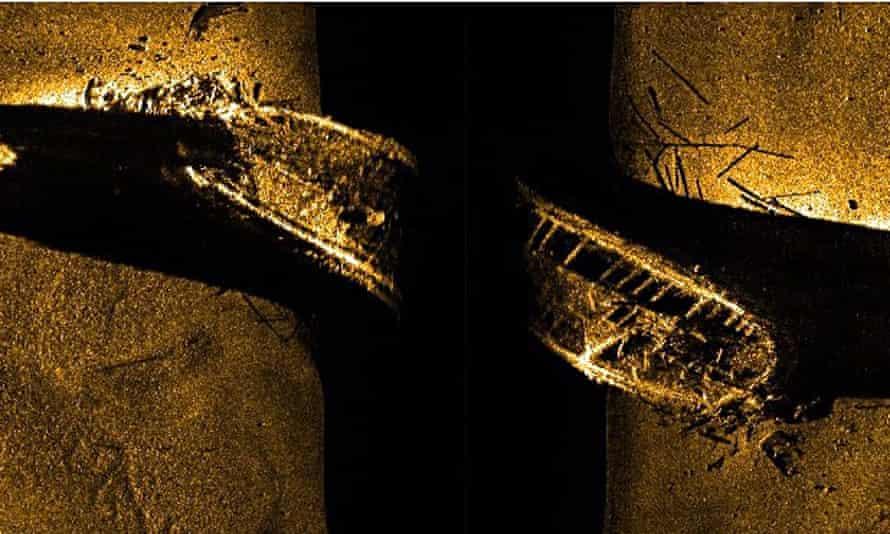 Wreck of HMS Erebus