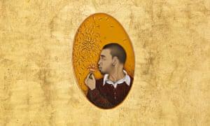 self-portrait 2009 imran qureshi