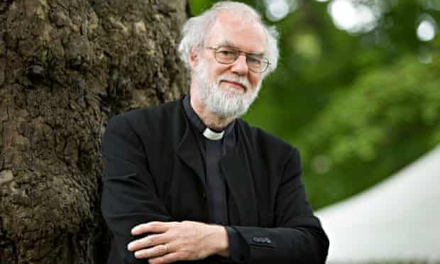 Rowan Williams, the former archbishop of Canterbury.