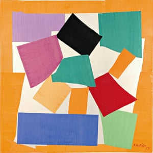 The Snail, 1953. Tate © Succession Henri Matisse/DACS 2013
