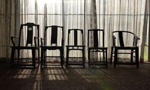 ai weiwei chairs