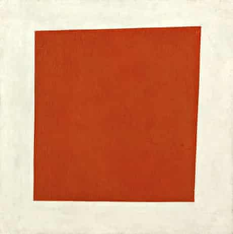 RedSquare (Painterly Realism of a Peasant Woman in Two Dimensions)1915