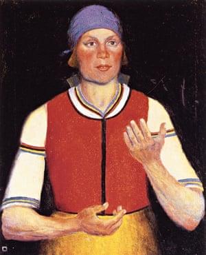 woman worker malevich