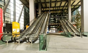 cheesegrater escalator