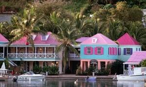 Big companies apparently make vast profits in the British Virgin Islands.