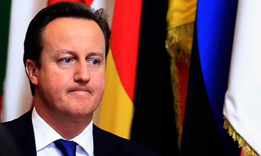 David Cameron wants Britain to stay in the EU, but can't say it yet.