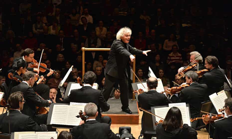 simon rattle berlin philharmonic