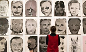 Marlene Dumas retrospective, Tate Modern, London, Britain - 03 Feb 2015