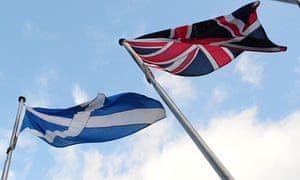 Will the union flag always fly in Scotland?