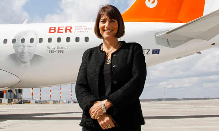 Carolyn McCall, chief executive of easyJet, said its existence is based on Britain's EU membership.