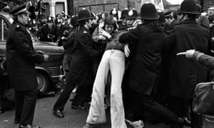 The 1977 Grunwick strike was crushed by police with the full support of the Labour government.
