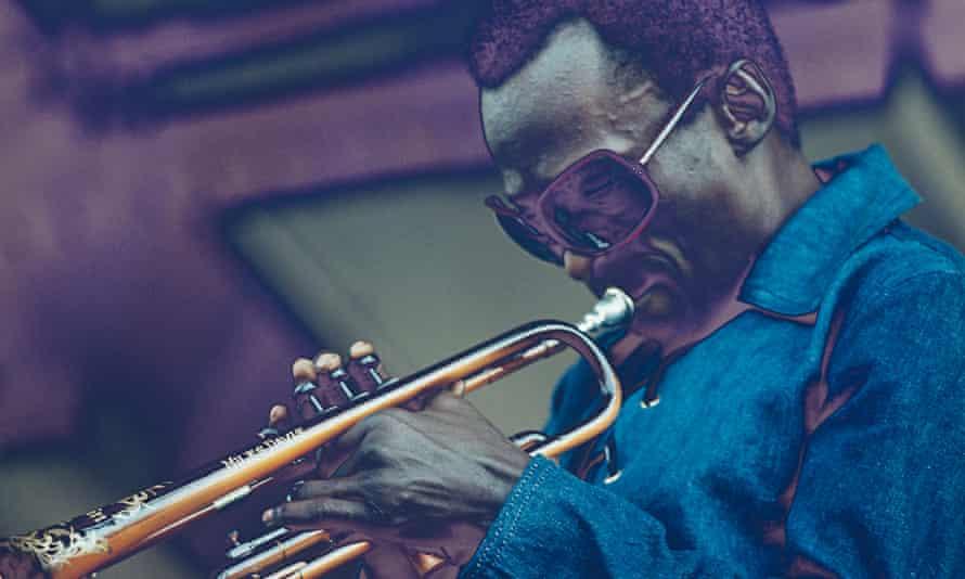 Miles Davis Performs At Newport