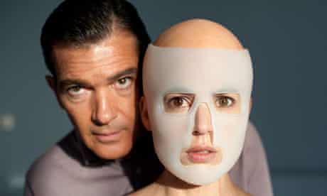 Antonio Banderas and Elena Anaya) in scene from 'The Skin I Live In'.