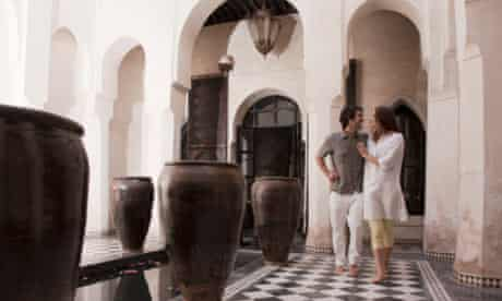 Morocco makes a romantic February getaway.
