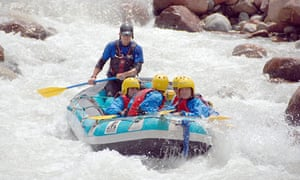 Rafting in Morocco