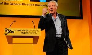 Lord Ashdown at Lib Dem spring conference 2013
