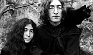 John Lennon with Yoko Ono and Pepper