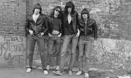 The Ramones in New York, 1976, by Roberta Bayley