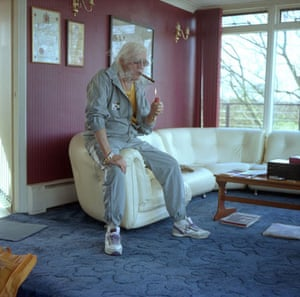 OMM portraits: OMM portrait of Sir Jimmy Saville by Gary Calton
